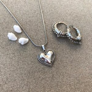 Ketting Love| Brick Jewelry | Natuursteen| Sieraden