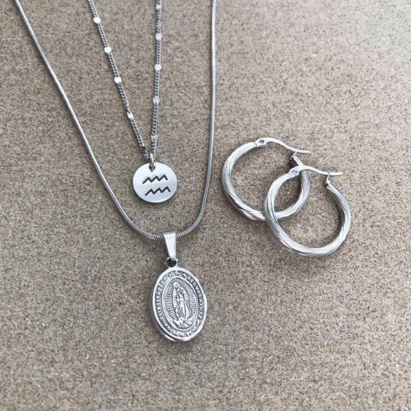 Ketting Maria | Brick Jewelry | Natuursteen| Sieraden
